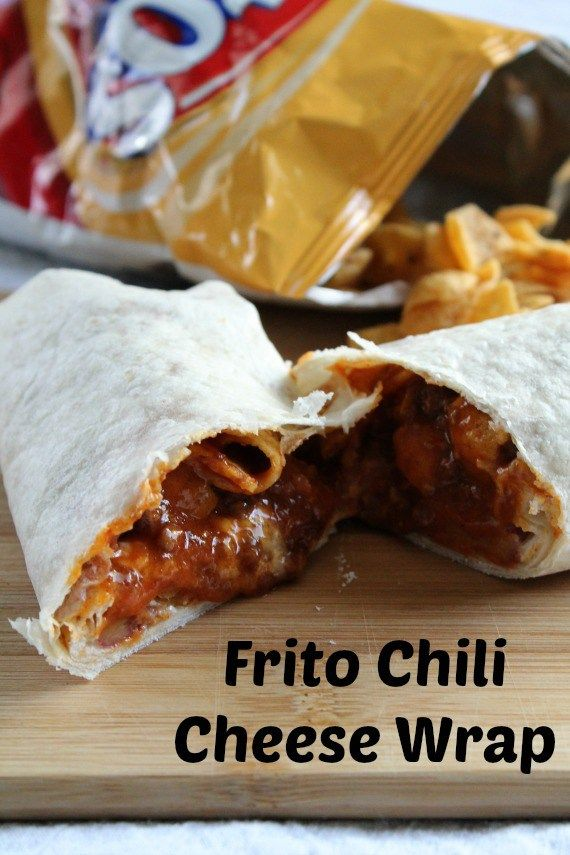 Frito Chili Cheese Wrap