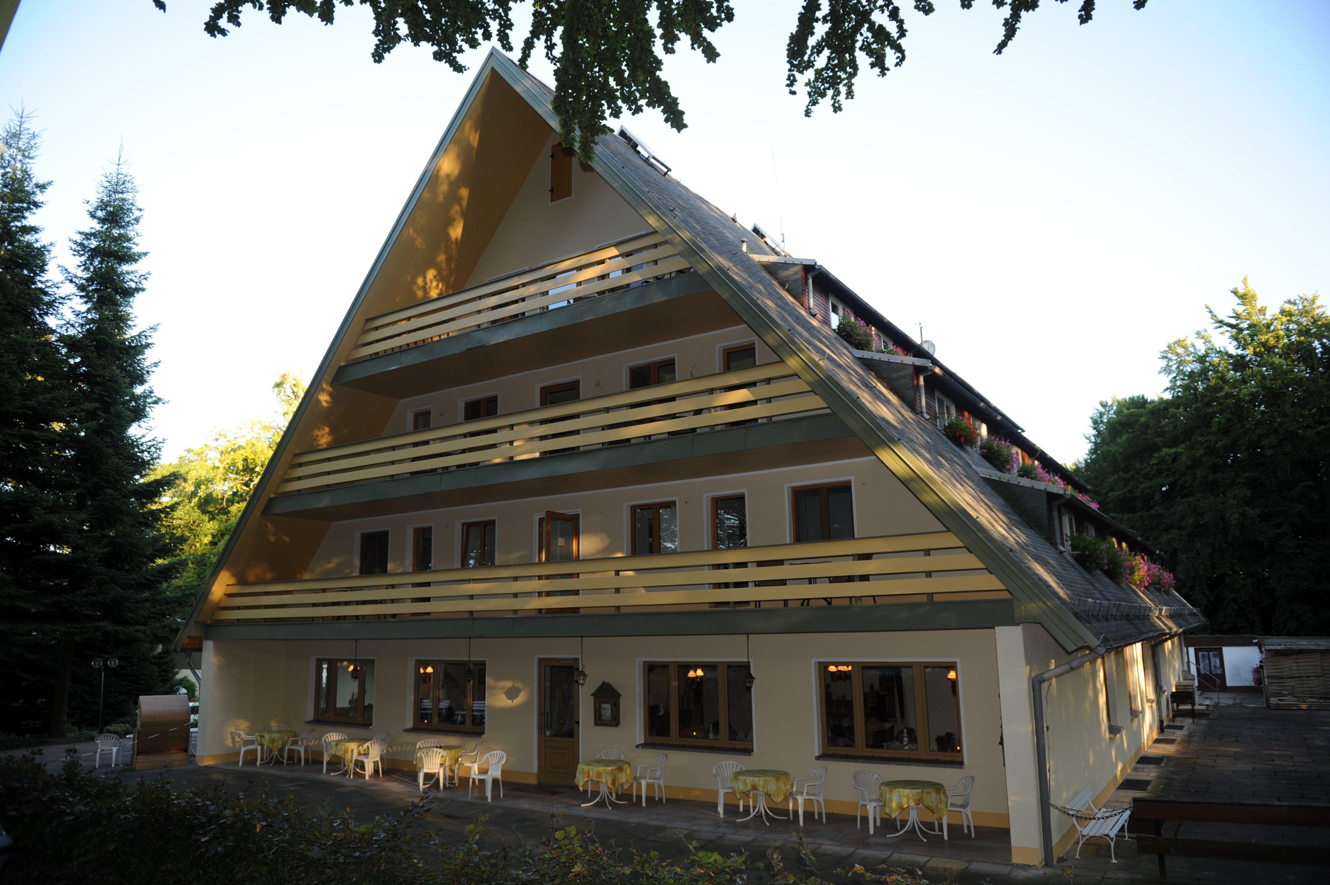 Forsthaus Langenberg Ruhiges Hotel in Einzellage Haus