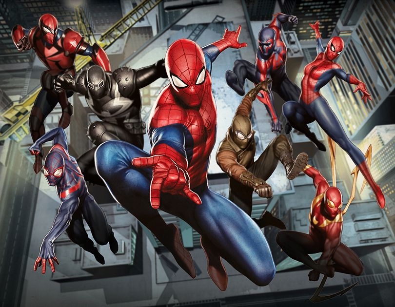 Spider-Man #Fan #Art. (Web Warriors Marvel Entertainment, Inc. 2016 Limited  Edition Giclée on Canvas Signed)…   Ultimate spiderman, Spiderman  characters, Spiderman