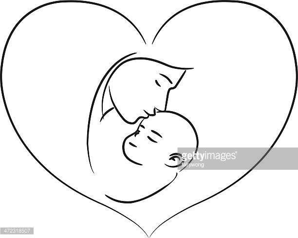 Mom Sleeping With Baby Cartoon Stock Illustrations And Cartoons Baby Cartoon Cartoon Mom Moms Sleep