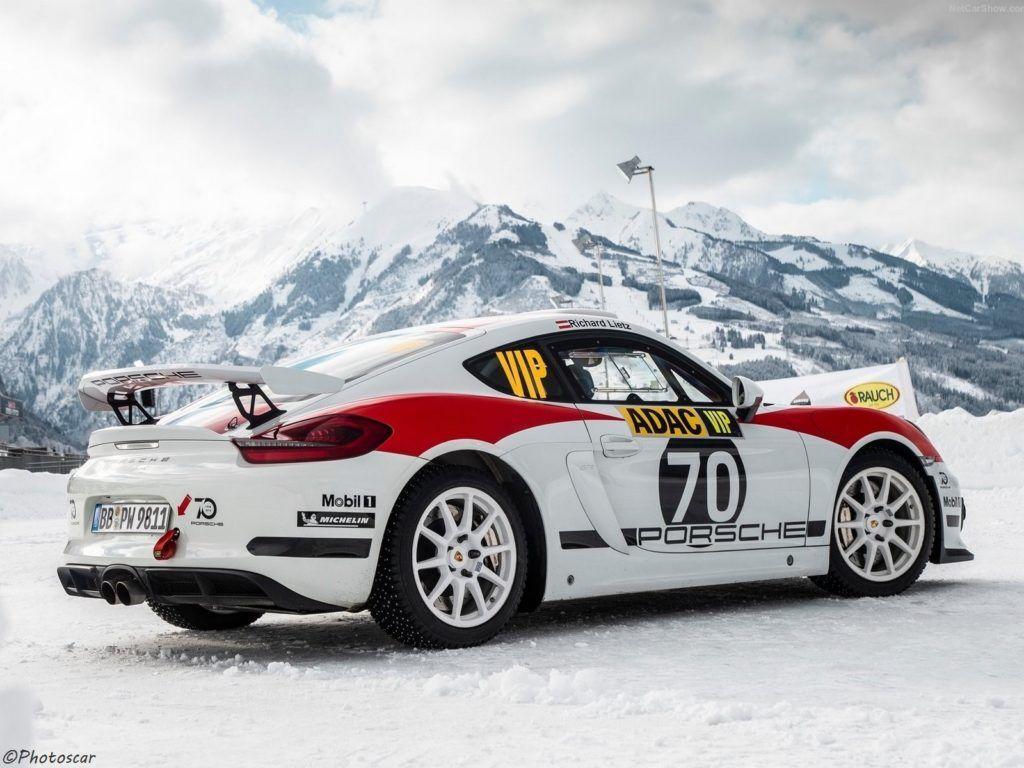 Porsche Cayman GT4 Rallye Concept 2019 prêt à disputer la