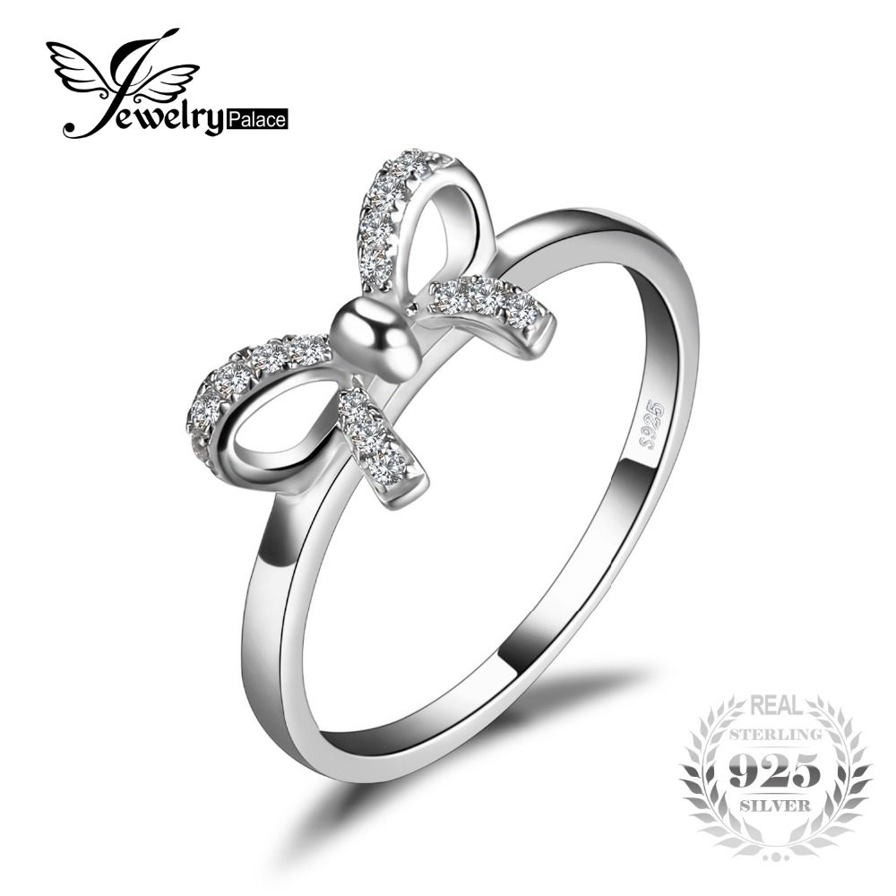 in austrian jewelry on color stainless zirconia rings made cubic item engament women bands steel wedding with from bow accessories crystal gold plated
