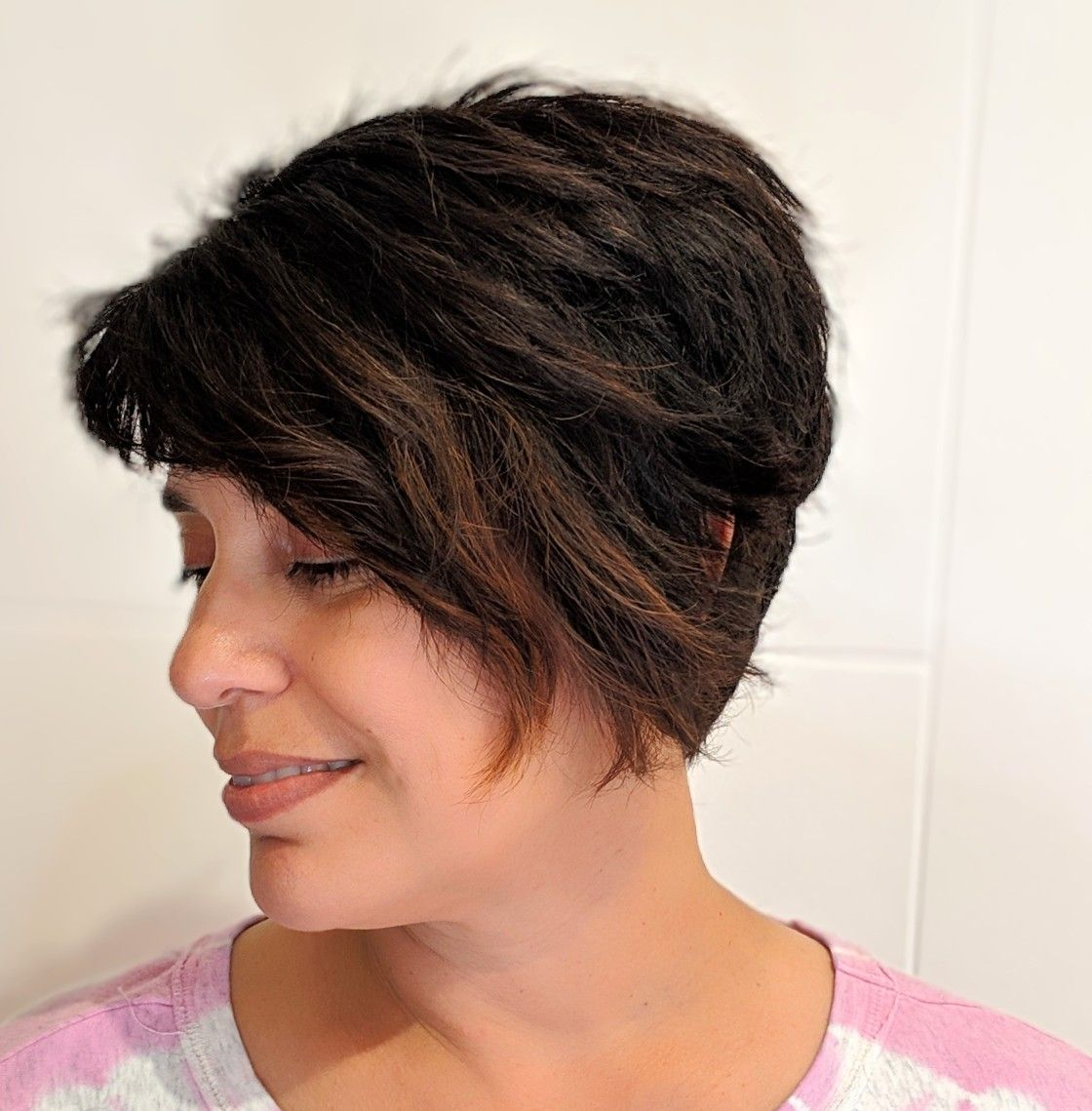 Short Hair And A Beautiful Profile Goddess Hairstyles Best Hair Stylist Cool Hairstyles