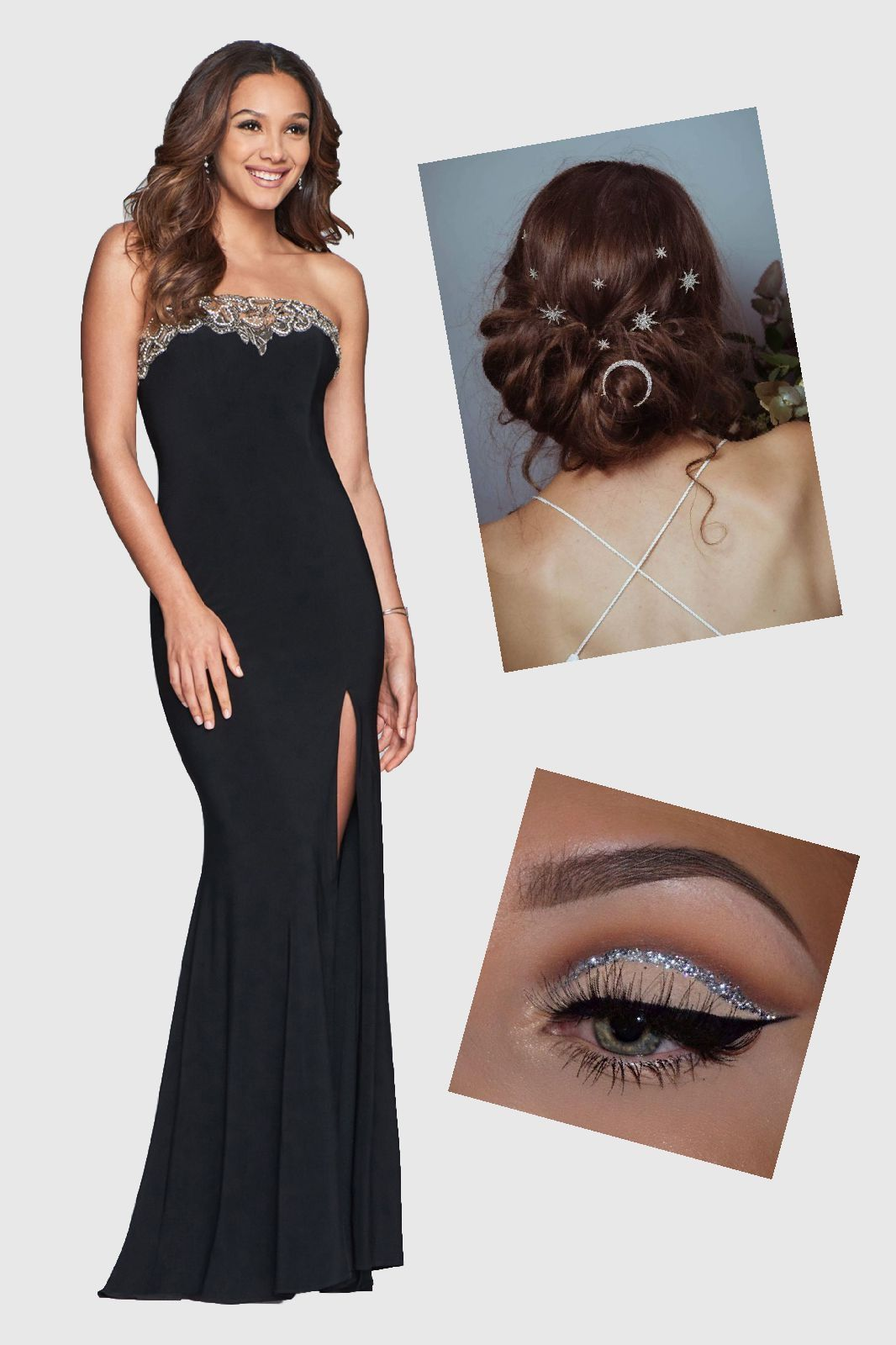 Faviana Style S10200 is a long prom dress with stretch