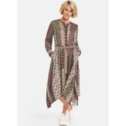Kleid mit asymmetrischem Saum Mehrfarbig Gerry Weber #hochzeitsgästekleidung