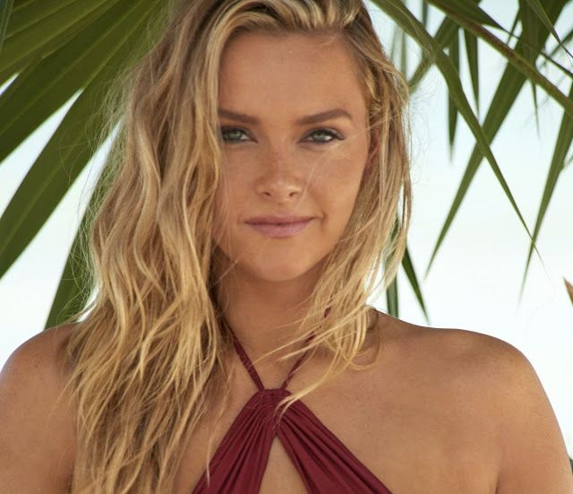 Camille Kostek Swimsuit Model: Camille Kostek In Sports Illustrated Swimsuit Issue 2018