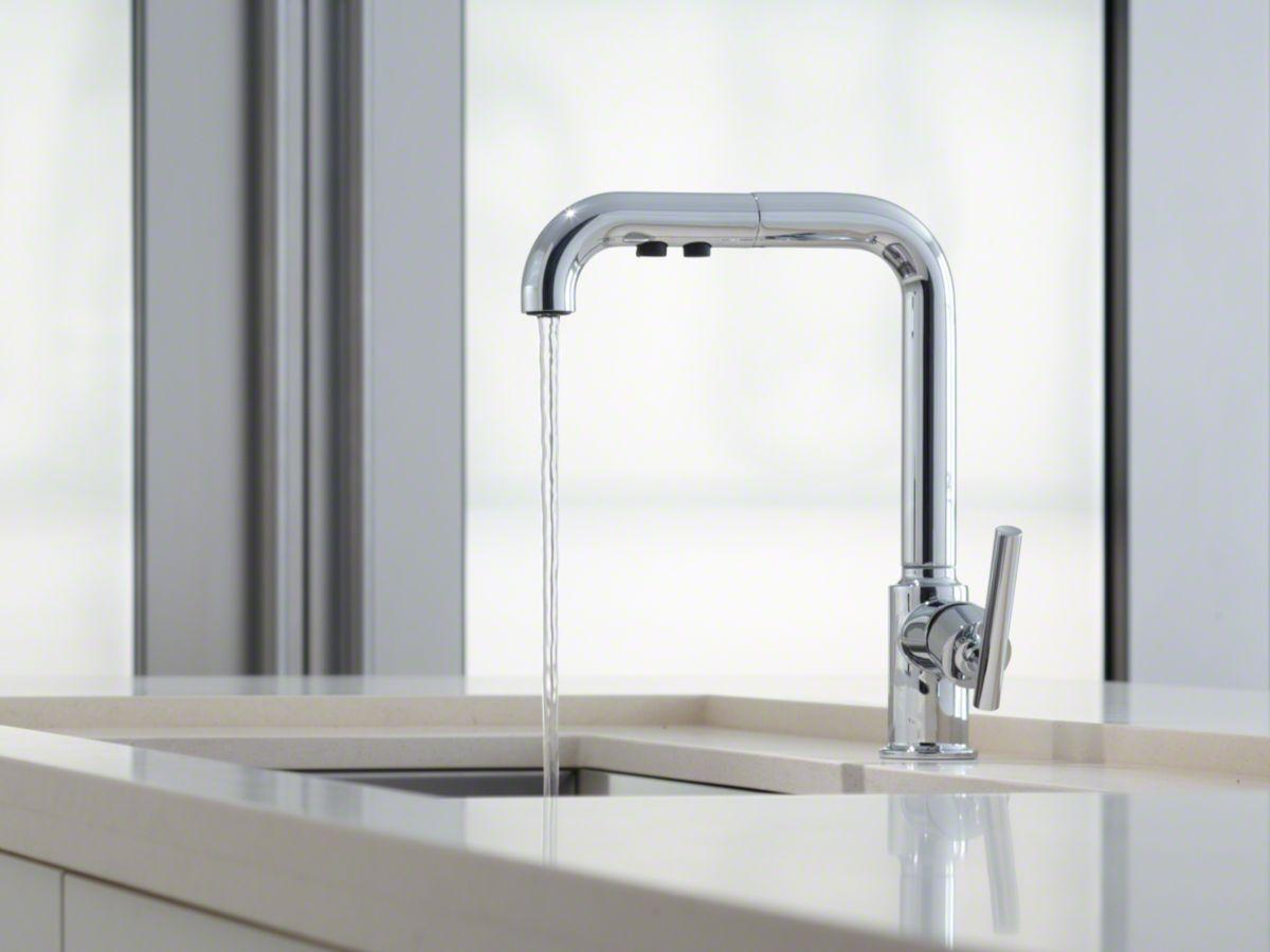 Kohler Purist Kitchen Faucet Plumbing Fixtures Kitchen