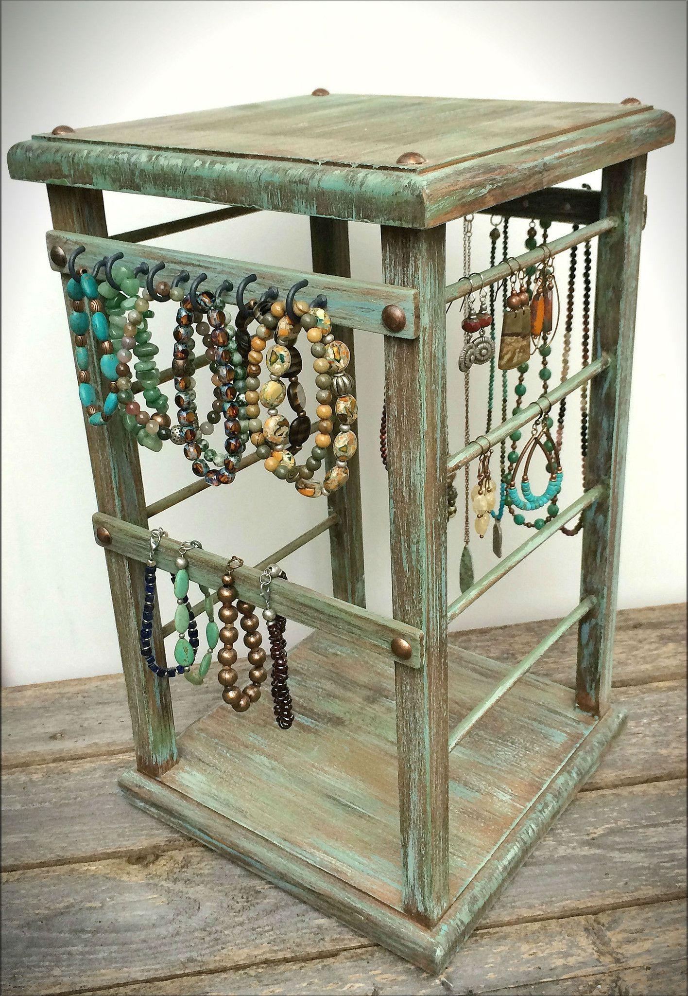 Rotating Display Jewelry Retail