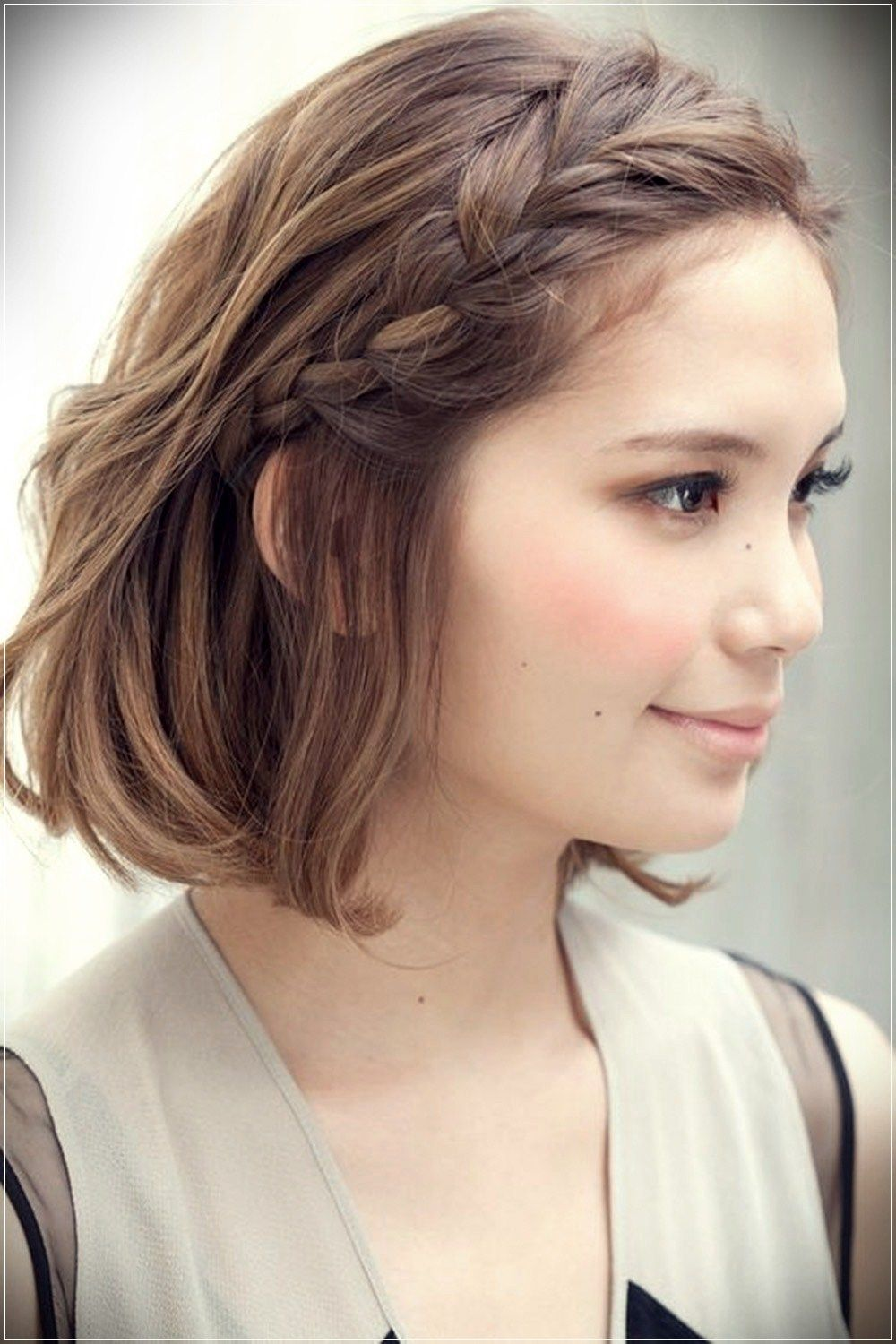 Some cute braids for short hair latest hairstyles pinterest