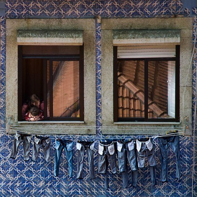 Untitled Oporto, Portugal y Tonos de azul