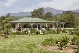 Hawaiian plantation style home