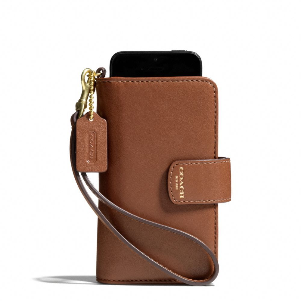The Legacy Phone Wristlet In Leather from Coach