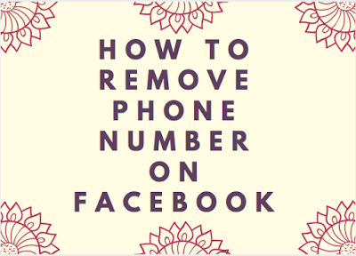 How to remove your phone number on facebook hide or delete my how to remove your phone number on facebook hide or delete my mobile number from ccuart Choice Image