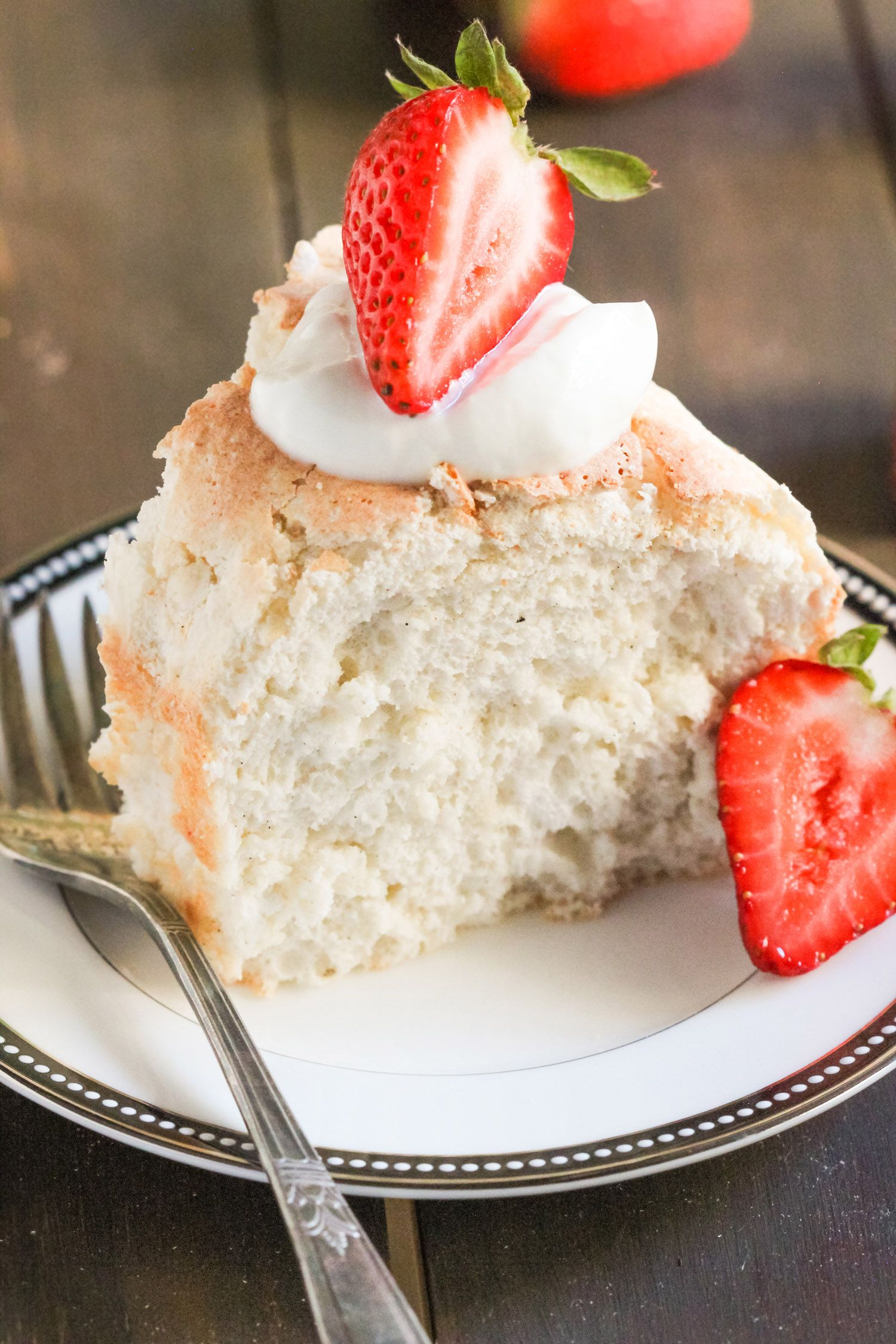 Healthy angel food cake recipe with images angel