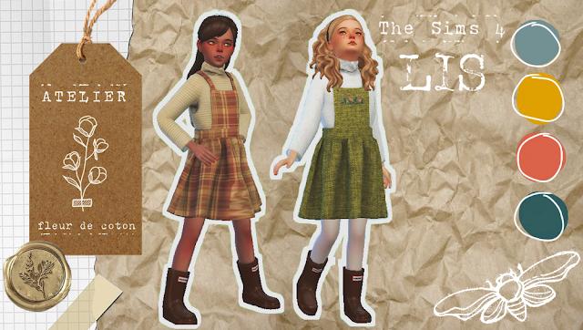 Lis   The Sims 4   Atelier Fleur de Coton