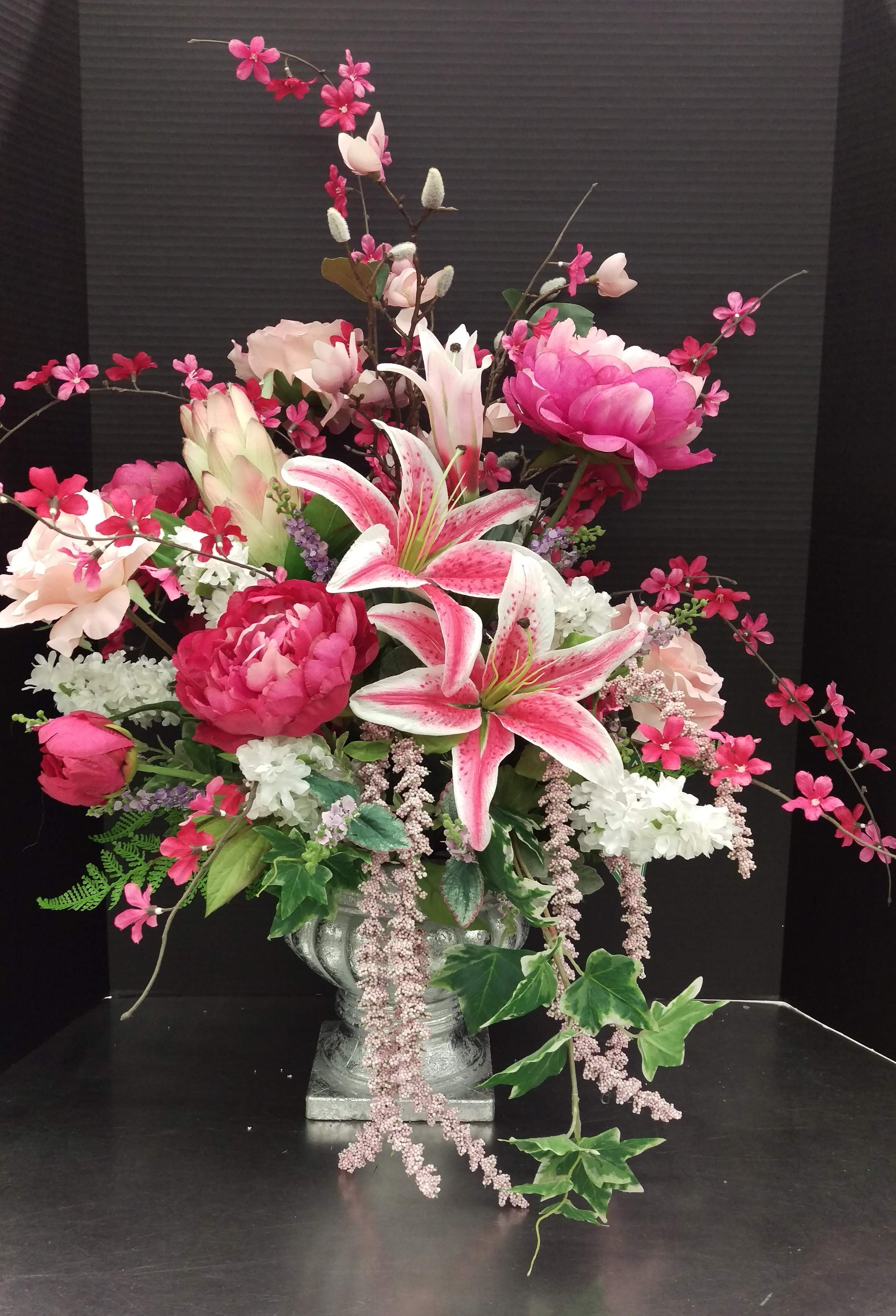 Spring 2017 By Randi Sheldon At Michaels 1600 Spring Floral Arrangements Silk Spring Floral Arrangements Artificial Flower Arrangements