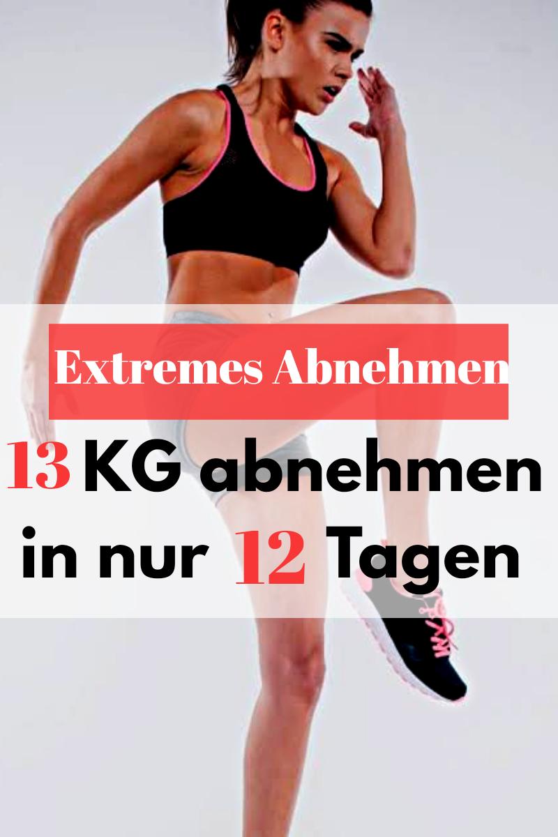 Werden Sie nur mit Diät und Bewegung schnell schlank