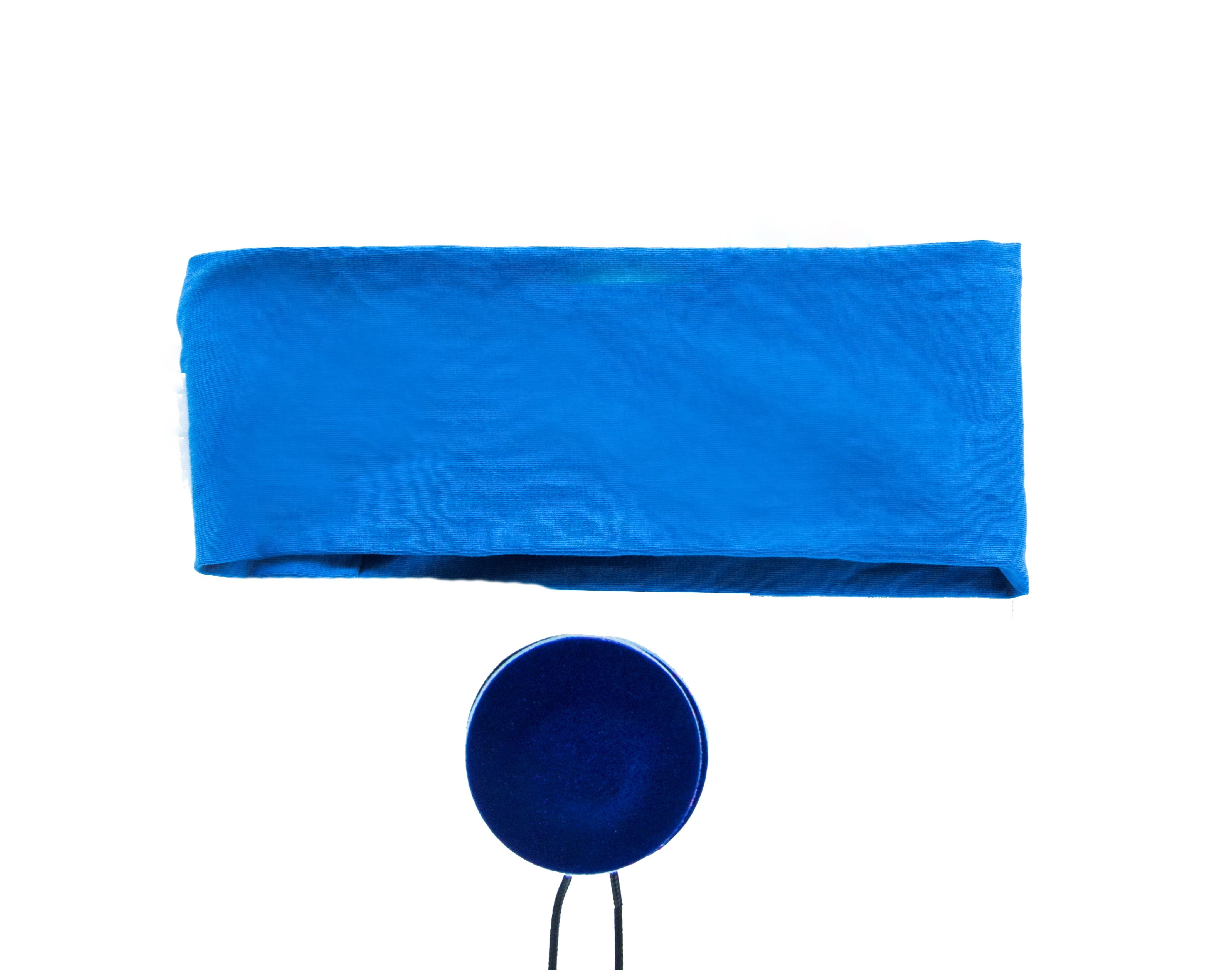 Blue Zenband Headband Flat Pillow Speakers Eye Mask Combo Daily Health Tips Comfortable Headbands Liver Health