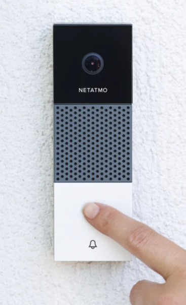 The Netatmo Smart Video Doorbell An Alternative To Those With Subscription Fees Smart Video Video Doorbell Doorbell