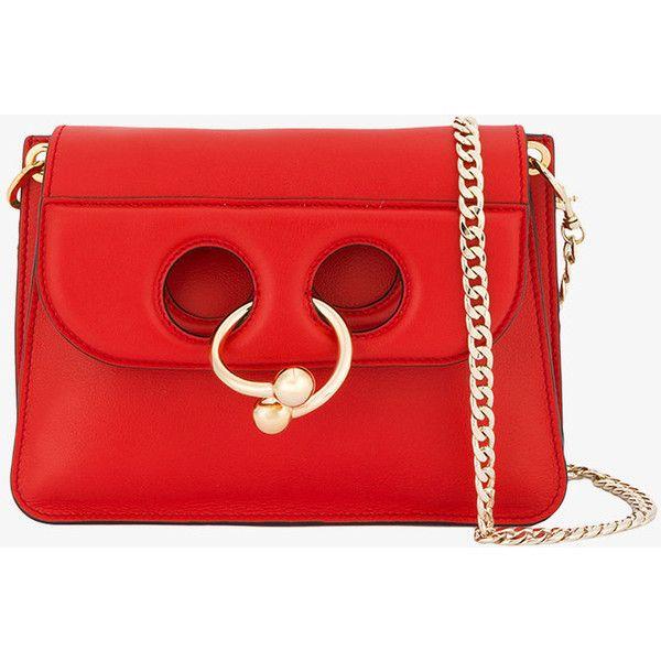 J.W.Anderson Pierce mini leather cross-body bag at