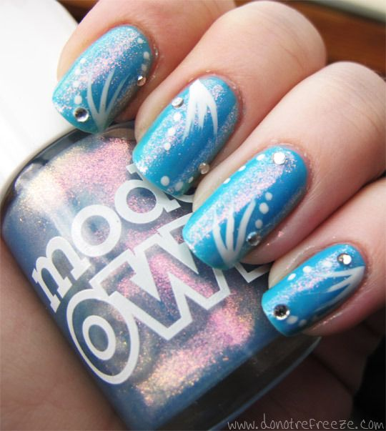 Cool Ocean Nail Art » Do Not Refreeze - Food, fun and lipstick ...