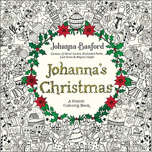 Amazon.com: Johanna's Christmas: A Festive Coloring Book ...