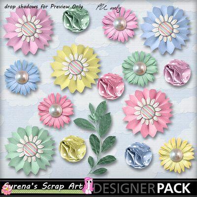 Baby Shower Flower Pack