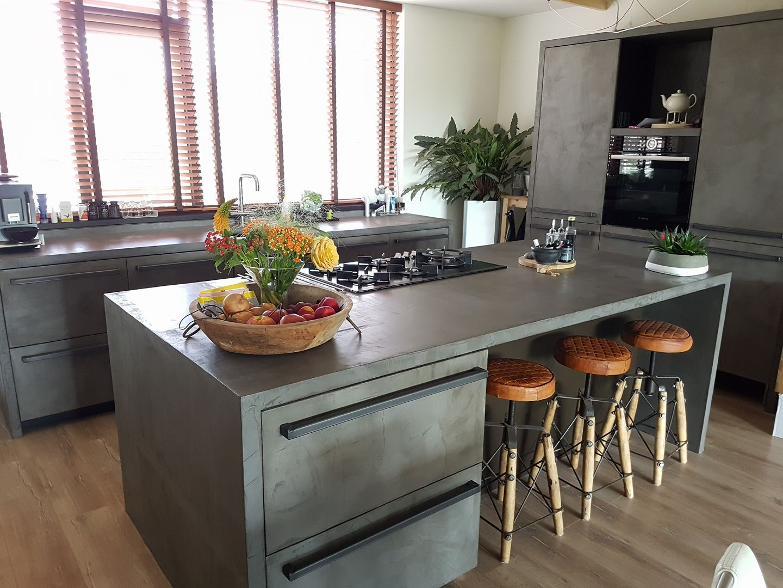 Fb martine timmerman ikea keuken met laagje betonstuc keuken