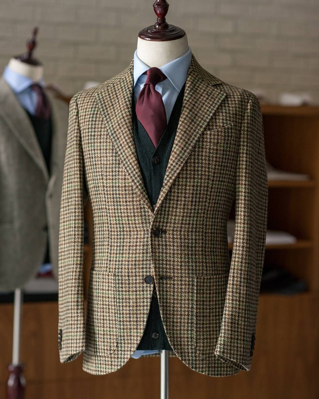 d9612d49c7c8 Abraham Moon Tweed Gun Check. An classic tweed pattern jacket in our  updated Neapolitan cut.  525 CAD. There has never been a better value…