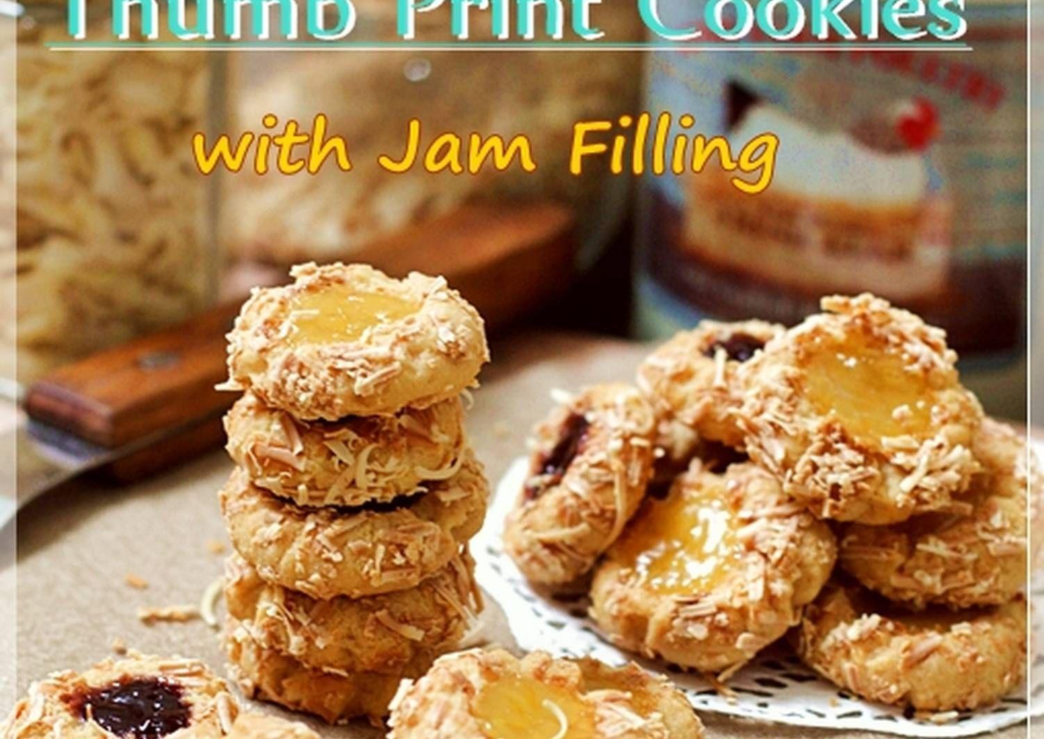 Resep Blueberry Lemon Thumbprint Cookies With Cheese Super Nagih Oleh Tintin Rayner Resep Makanan Resep Resep Biskuit