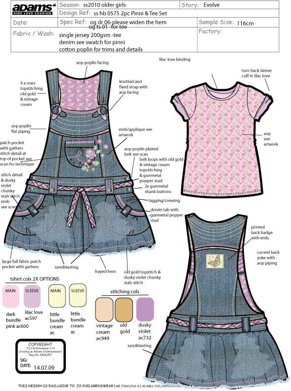 Design Brief Examples By Hannah Wells At Coroflot Com Junior Girls Clothing Kids Fashion Girl Outfits