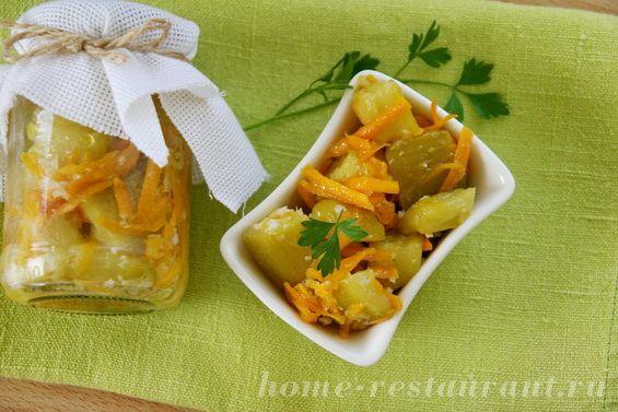 Домашний ресторан рецепт салат с фасолью на зиму
