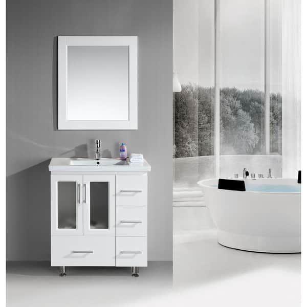 Design Element Stanton 32-inch Single Drop-in Sink Vanity (Stanton