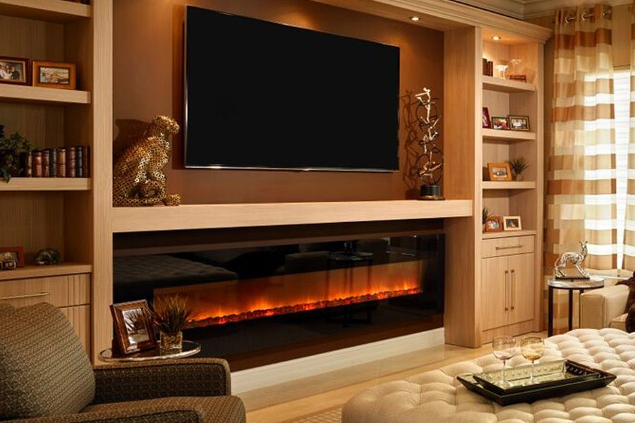 Wall Mounted Fireplaces Modern Flames Family Room