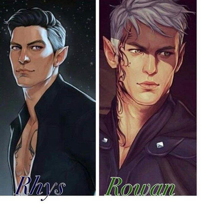 Two Of My Favorite Fae Males Throne Of Glass A Court Of Mist