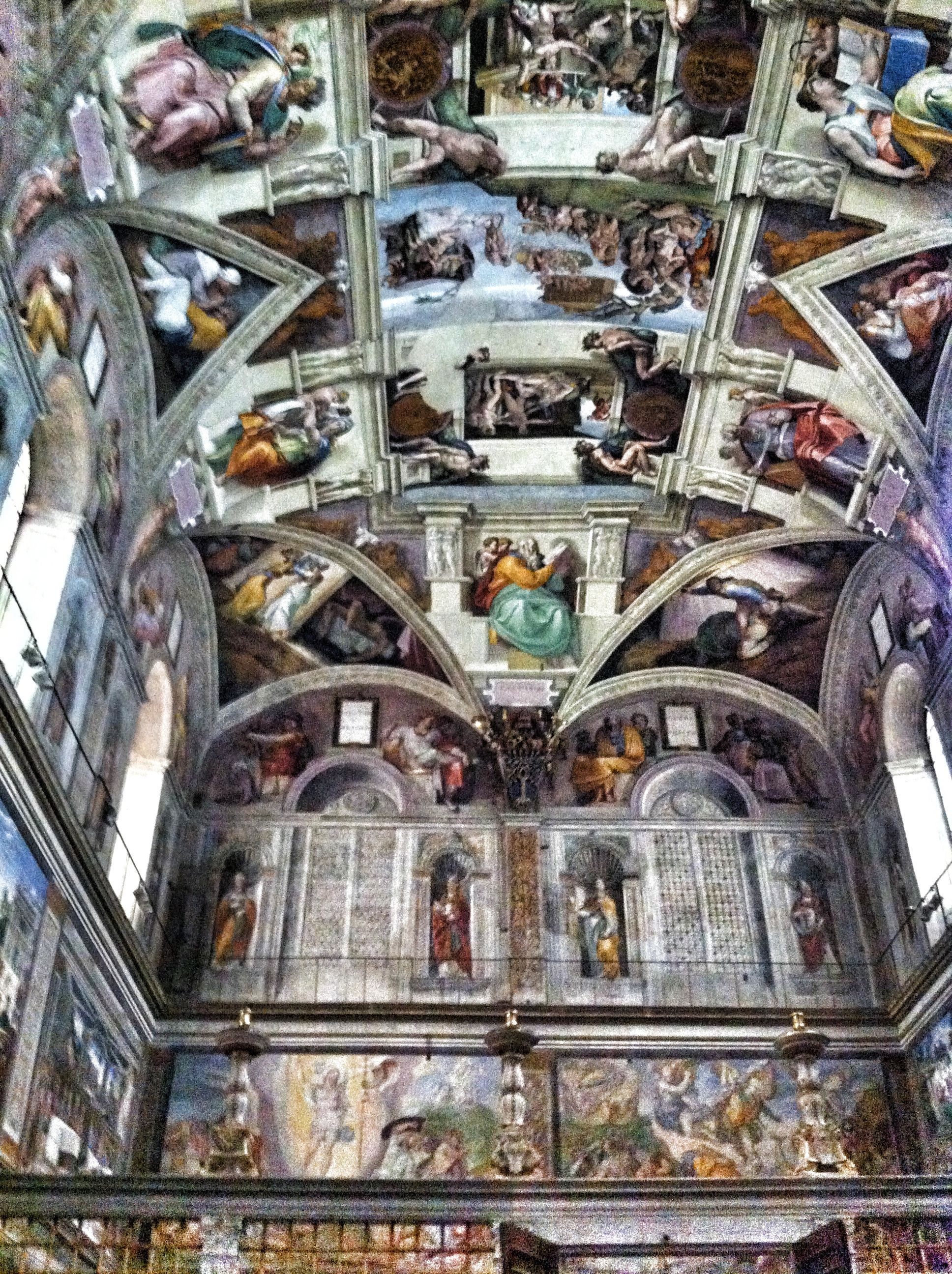 Vatican City Rome Summer Sistinechapel Rome Sistine Chapel Vatican City