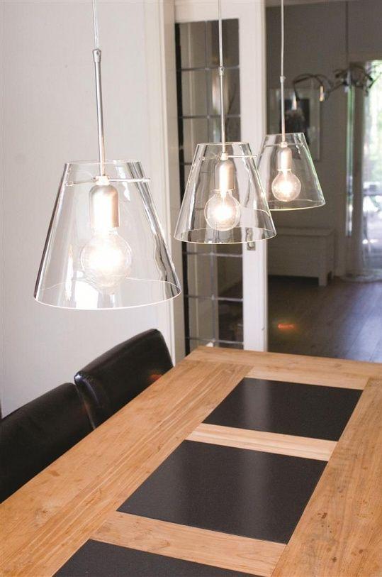 lamp boven eettafel glas - Google zoeken | Verlichting | Pinterest ...