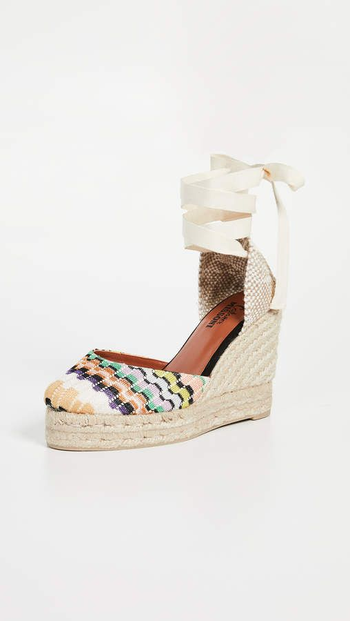 4bea6a68d22 x Missoni Carina Wedge Espadrilles in 2019 | Products | Espadrilles ...