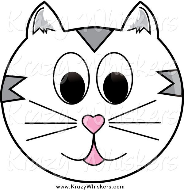 cats face clip art yahoo image search results things to make rh pinterest com cat face clipart black and white free cat face clipart png