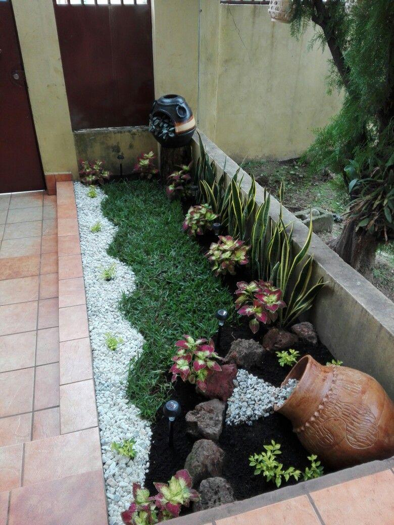 Pin de silvia zapata en dec pinterest ondas salir y for Decoracion de jardines y patios con piedras