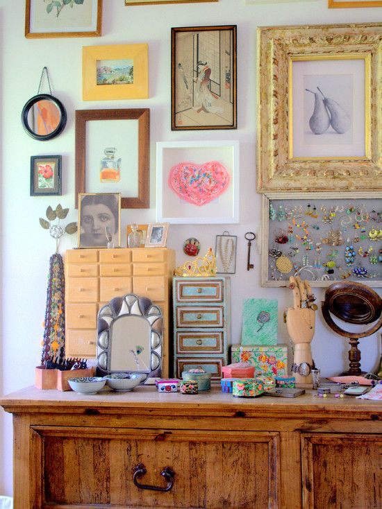 Good Inspiration For An Eclectic Teen Girls Room.eclectic Bedroom By Tamar  Schechner