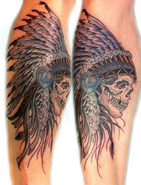 Native American Eagle Feather Native American Feather Tattoos 1