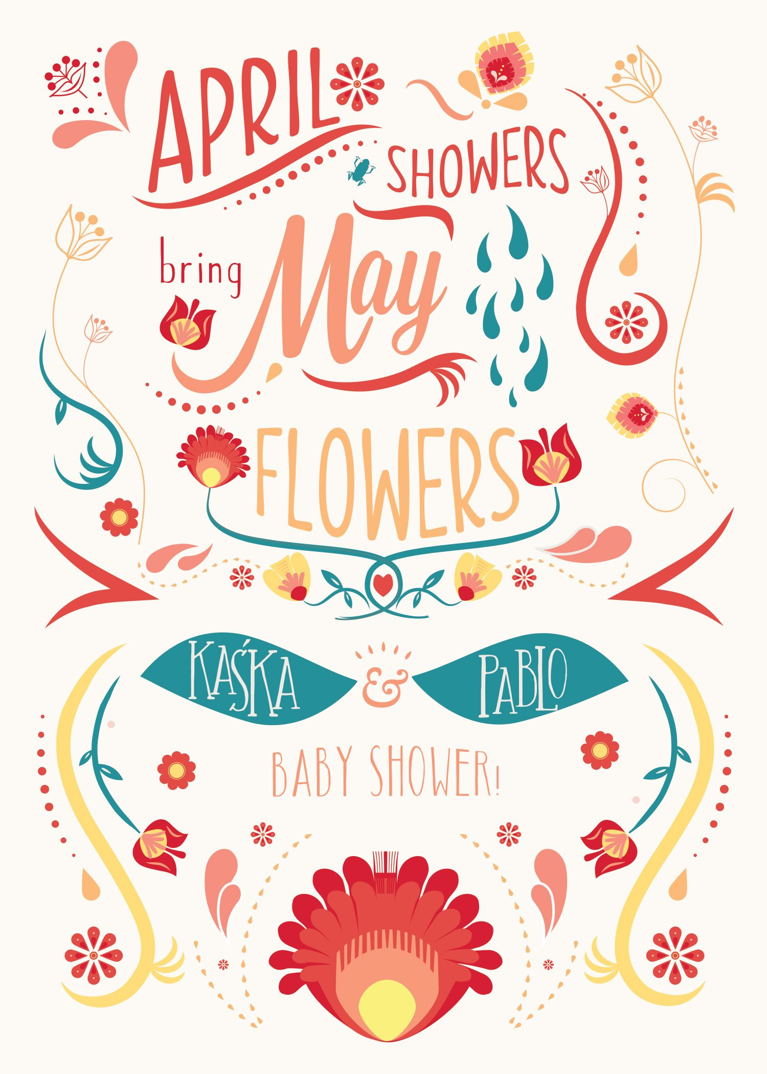 April Showers Bring May Flowers | liannierios.com | May