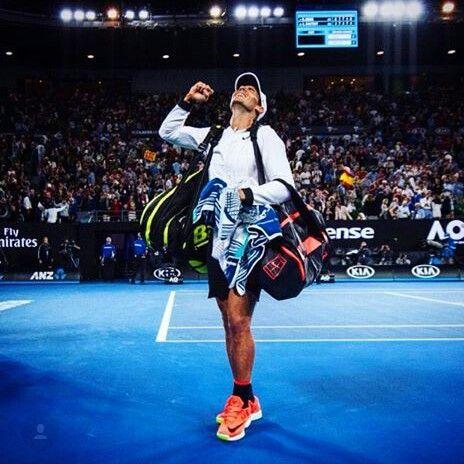 Vamos Rafa Austrália open 2017