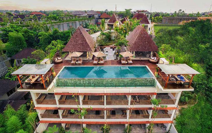 Goya boutique resort ubud bali indonesia the greenest for Ubud boutique accommodation