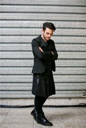 2ac55e5f174 Homens também usam saias!