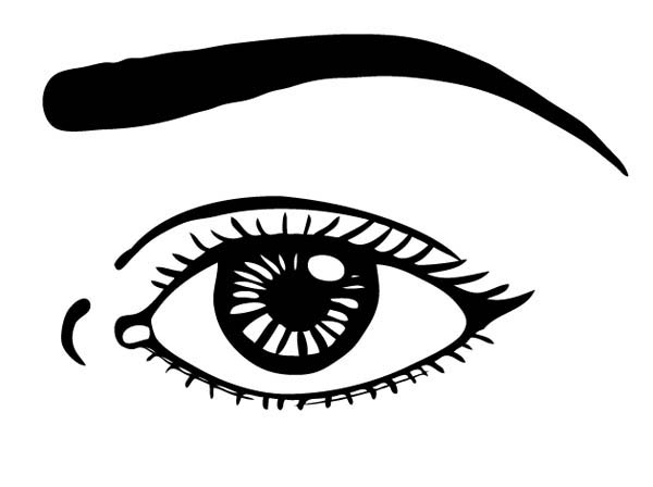 Watching With Eyes Coloring Page Coloring Sun Super Coloring Pages Coloring Pages Eyes Clipart