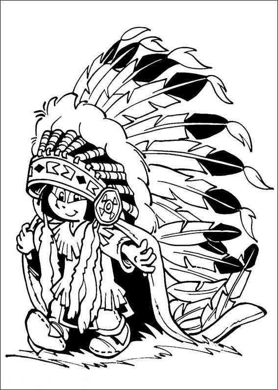 √ Ausmalbilder Pferde Yakari Indianer Ausmalbilder