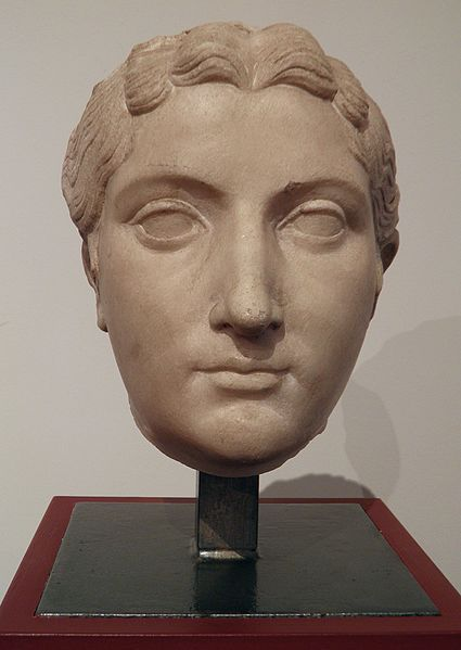 Antonia Minor, fille cadette de Marc Antoine et d'Octavie, retrouvée à Béziers, MSR, Musée Saint-Raymond