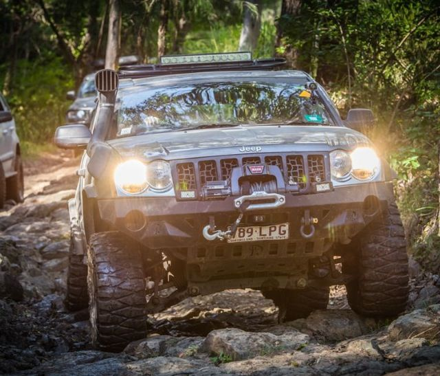 Monster Jeep Wk By Murchison Products Australia Jeep Wk Jeep Mods Jeep Grand Cherokee